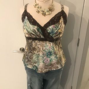 Camisole with multi colors Lane Bryant sz 16